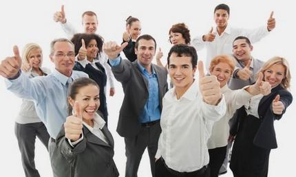 Des clients heureux